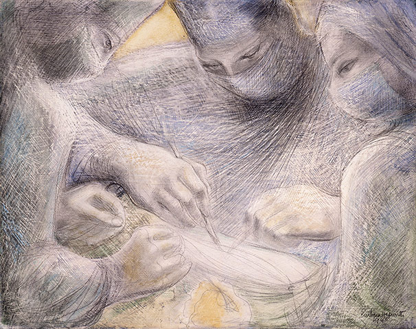 Barbara Hepworth, Concentration of Hands II