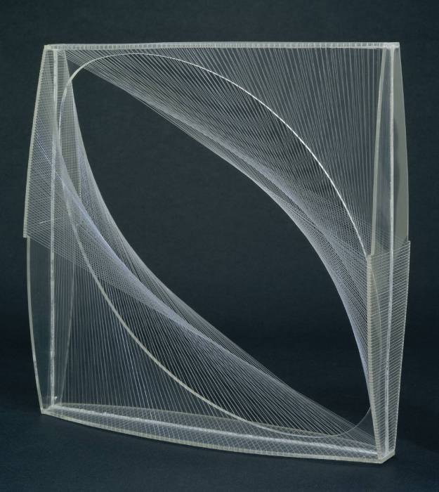 Linear Construction No. 1 1942-3 by Naum Gabo 1890-1977