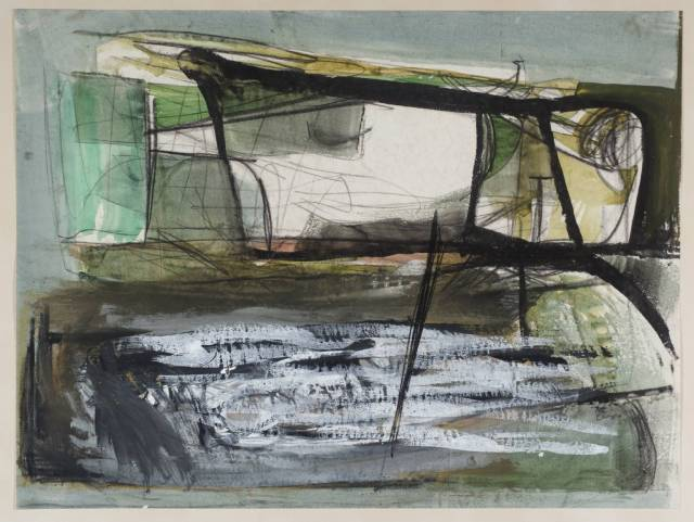 Coast 1953 by Peter Lanyon 1918-1964