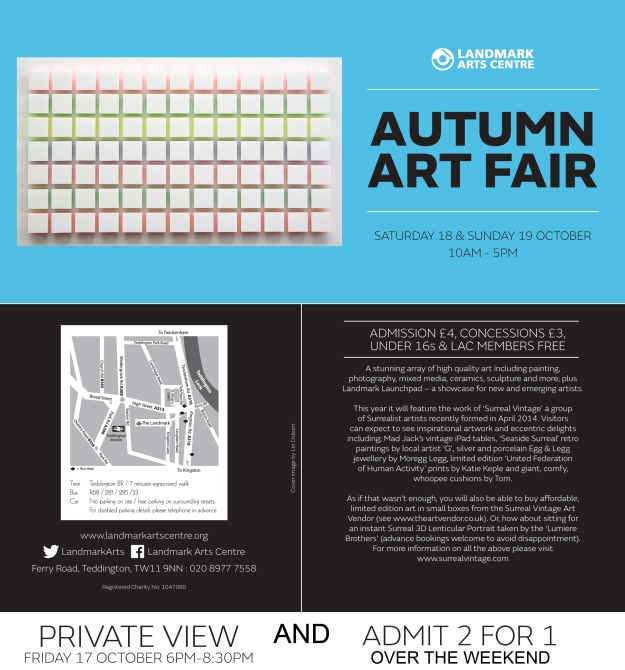 Landmark Autumn Art Fair Invite