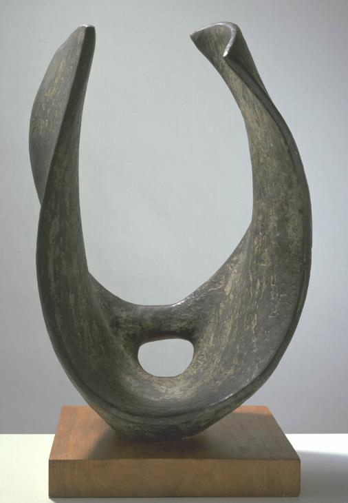 Curved Form (Trevalgan) 1956 Dame Barbara Hepworth 1903-1975 Purchased 1960 http://www.tate.org.uk/art/work/T00353
