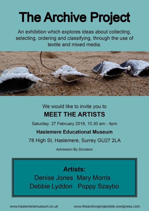 the archive project meet the artists invite