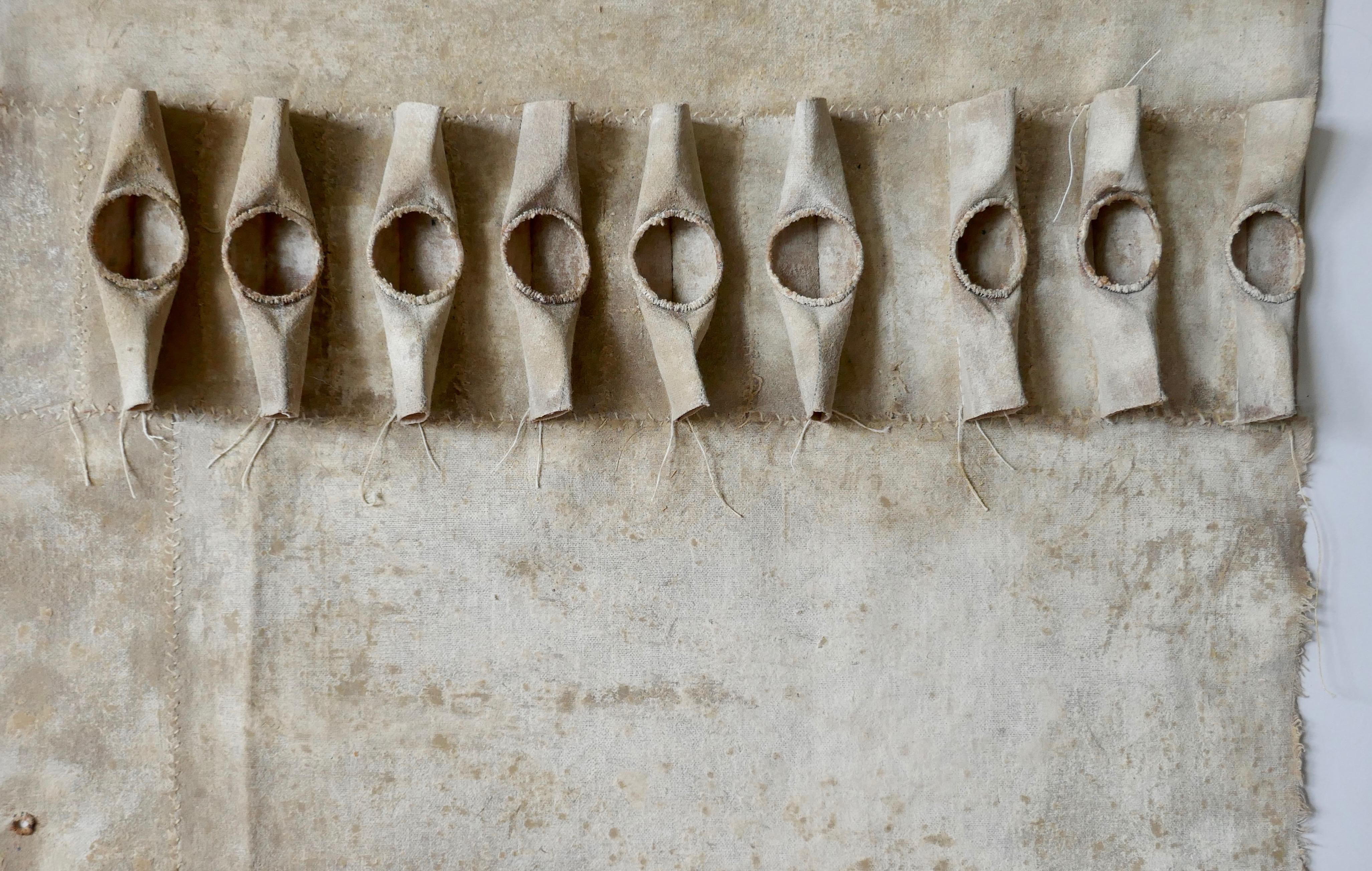 Ground Cloth Fragment - Chalk