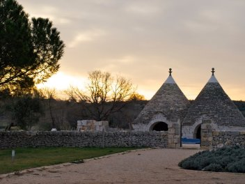 Dawn at the Masseria